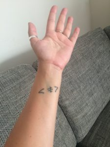 Az első tetoválásom története